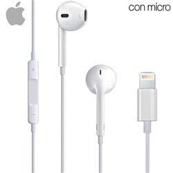 Auriculares Apple (Lightning) Original iPhone 7 / 7 Plus / 8 / X (Sin Blister)