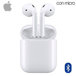 Auriculares Apple Airpods Bluetooth Original 2ª Generación (MV7N2ZM/A)