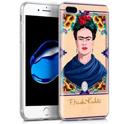 Carcasa iPhone 7 Plus / iPhone 8 Plus Licencia Frida Kahlo Woman