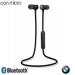 Auriculares Stereo Bluetooth Deportivos Universal Licencia BMW