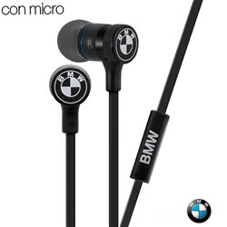 Auriculares 3,5 mm Stereo Licencia Oficial BMW