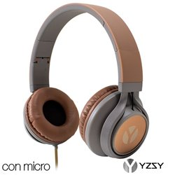 Auriculares Cascos Lorca Universal Stereo YZSY Brown