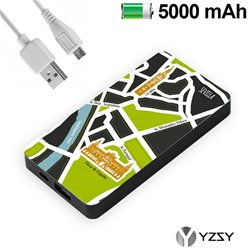 Bateria Externa Micro-usb Power Bank 5000 mAh City Sevilla YZSY