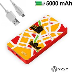 Bateria Externa Micro-usb Power Bank 5000 mAh City Valencia YZSY