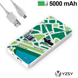 Bateria Externa Micro-usb Power Bank 5000 mAh City Málaga YZSY