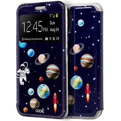 Funda Flip Cover iPhone 11 Dibujos Astronauta