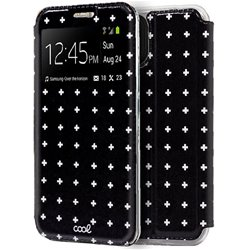Funda Flip Cover iPhone 11 Dibujos Cruces