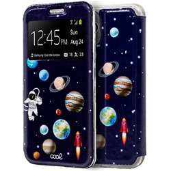 Funda Flip Cover iPhone 11 Pro Dibujos Astronauta