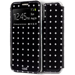 Funda Flip Cover iPhone 11 Pro Dibujos Cruces