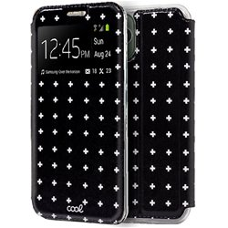 Funda Flip Cover iPhone 11 Pro Max Dibujos Cruces