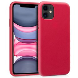 Funda Silicona iPhone 11 (Rojo)