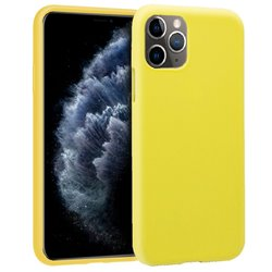 Funda Silicona iPhone 11 Pro (Amarillo)