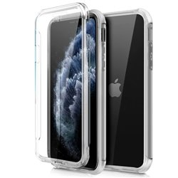 Funda Silicona 3D iPhone 11 Pro (Transparente Frontal + Trasera)