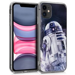 Carcasa iPhone 11 Licencia Star Wars R2D2