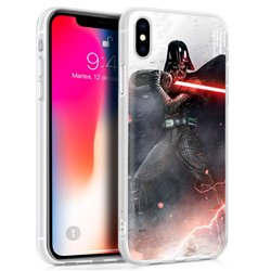Carcasa iPhone X / iPhone XS Licencia Star Wars Darth Vader