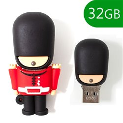 Pen Drive USB x32 GB Silicona Guardia