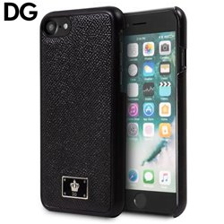 Carcasa iPhone 7 / iPhone 8 Licencia Dolce and Gabbana Liso Negro