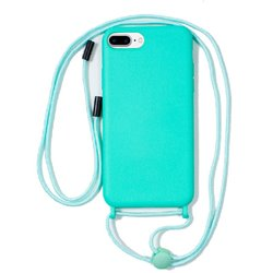 Carcasa iPhone 6 Plus / 7 Plus / iPhone 8 Plus Cordón Liso Mint