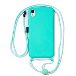 Carcasa iPhone XR Cordón Liso Mint