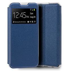 Funda Flip Cover Samsung G985 Galaxy S20 Plus Liso Azul