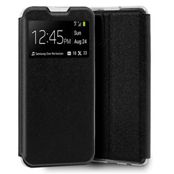 Funda Flip Cover Samsung G985 Galaxy S20 Plus Liso Negro