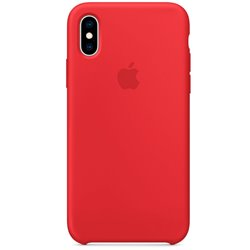 Funda Original iPhone X / iPhone XS Silicone Case RED (Con Blister)