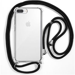 Carcasa iPhone 6 Plus / 7 Plus / iPhone 8 Plus Cordón Negro