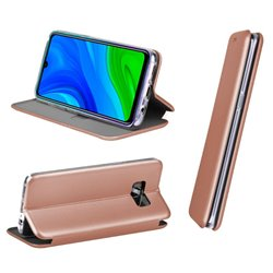 Funda Flip Cover Huawei P Smart 2020 Elegance Rose Gold
