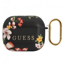 Funda Soft Silicona Apple Airpods Pro Licencia Guess Flores
