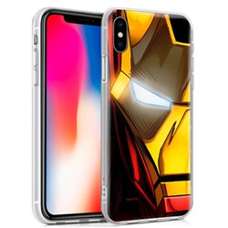 Carcasa iPhone X / XS Licencia Marvel Iron Man