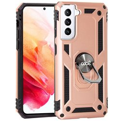 Carcasa COOL para Samsung G990 Galaxy S21 Hard Anilla Rose Gold