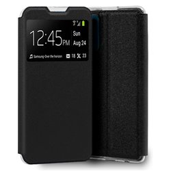 Funda COOL Flip Cover para Oppo Find X3 Lite Liso Negro