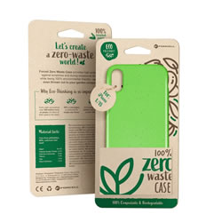 Funda Forcell BIO verde para iPhone 11